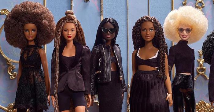 Barbie lancia 10 nuove bambole di colore in onore del Black History Month