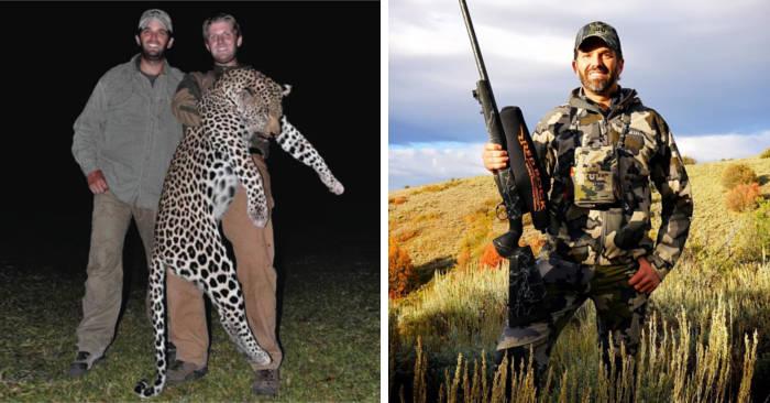 7 giorni a caccia di animali in via d'estinzione con il figlio di Trump per 150.000 euro