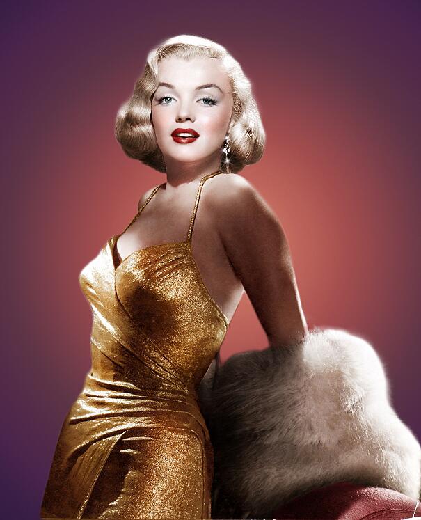 Foto Marilyn Monroe colorate Olga Shirnina