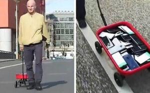 Artista crea un ingorgo su Google Maps camminando in strada con 99 smartphone