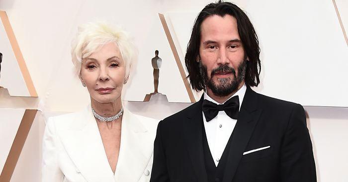 Oscar 2020, Keanu Reeves conquista tutti sul red carpet con la madre
