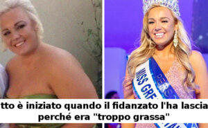 """Scaricata dal fidanzato perché """"troppo grassa"""", dimagrisce e diventa Miss Gran Bretagna 2020"""