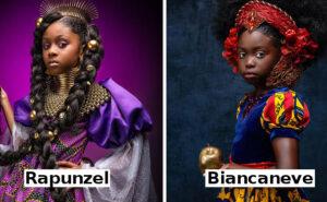 14 splendide foto mostrano come sarebbero le principesse Disney se fossero afroamericane