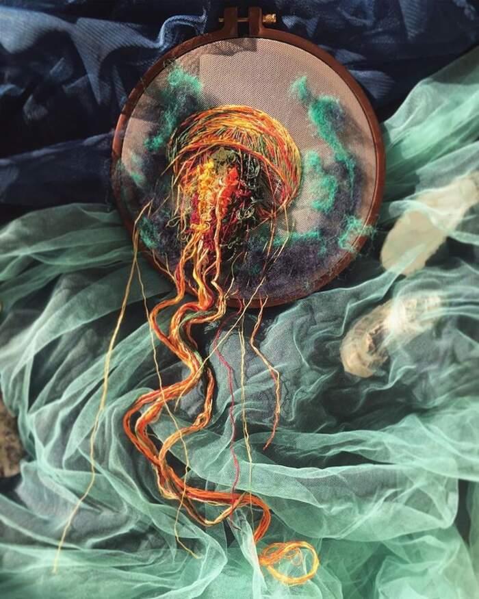 Ricamo meduse, Yuliya Kucherenko