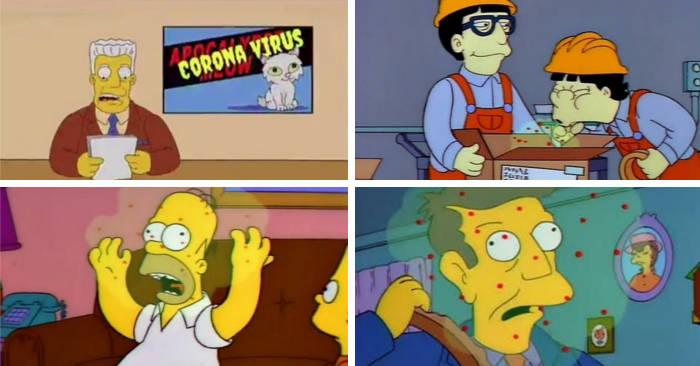 I Simpson avevano previsto l'epidemia di Coronavirus nel 1993?
