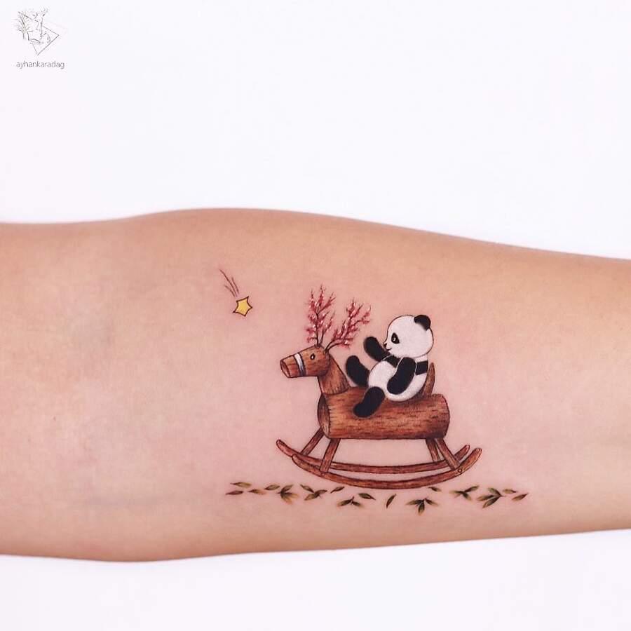 Incantevoli tatuaggi che sembrano usciti da un libro di fiabe - Ayhan Karadağ