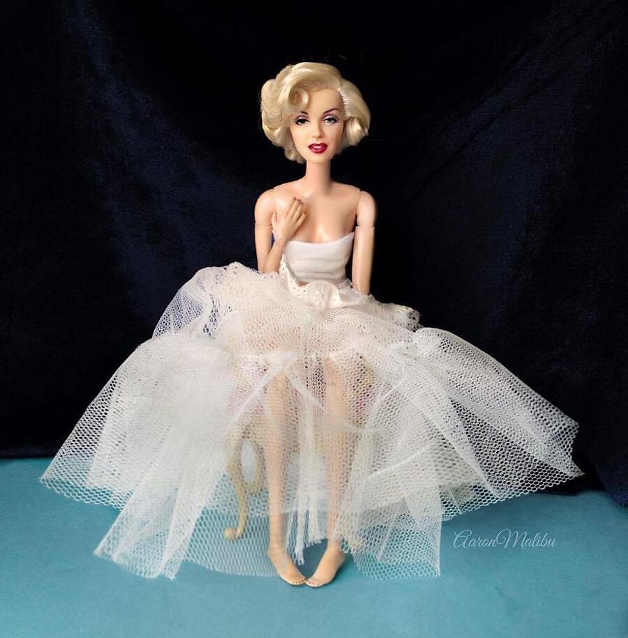 Trasforma Barbie in personaggi famosi