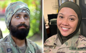 La US Air Force cambia codice di abbigliamento per includere hijab, barba e turbante