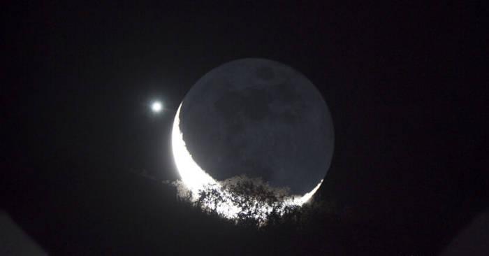 Venere e la Luna si