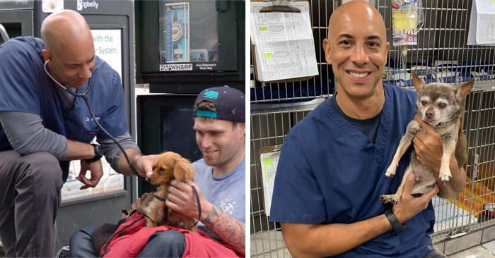 Veterinario trascorre 9 anni in viaggio a curare gratis i cani dei senzatetto