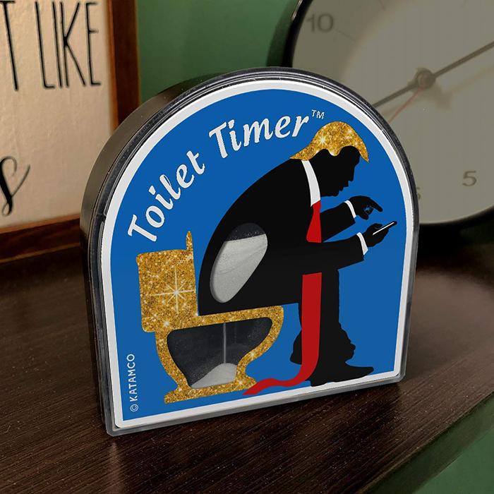 Toilette timer, clessidra da wc per chi sta troppo tempo in bagno