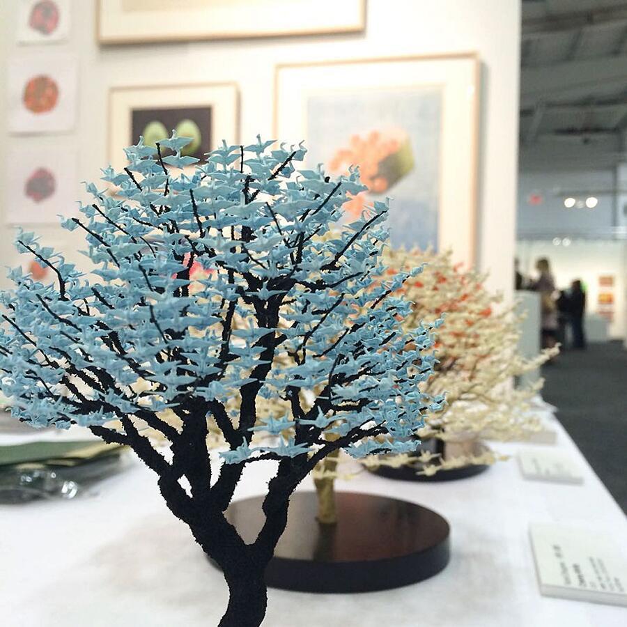 Bonsai fatti con origami Naoki Onogawa
