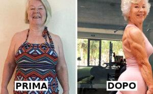 """Aiuta la mamma di 73 anni a perdere oltre 20 chili e le foto del """"prima e dopo"""" diventano virali"""