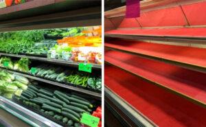 Donna tossisce su frutta e verdura per gioco, il negozio è costretto a gettare 31.000 euro di merce