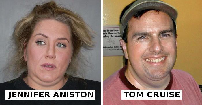 Ecco come sarebbero le celebrità se fossero persone comuni