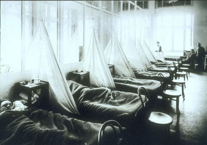 Influenza spagnola 1918 e coronavirus COVID-19