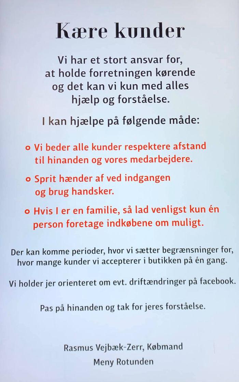 Supermercato in Danimarca ferma l'incetta di igienizzante per le mani