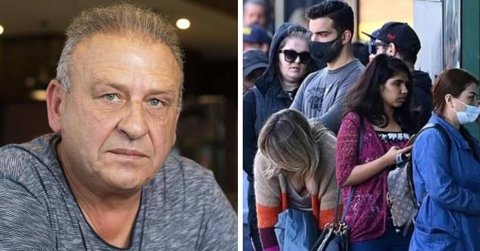 Immigrato greco in Australia regala $10.000 alle persone in fila senza lavoro a causa del coronavirus