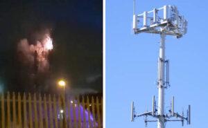 Coronavirus, complottisti in UK bruciano le antenne 5G perché causerebbero il COVID-19