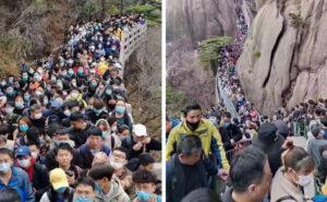 Cina, mete turistiche e centri commerciali si riempiono dopo il lockdown, ma il rischio è alto