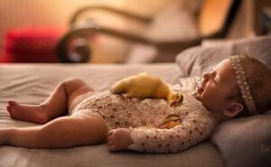16 foto adorabili di neonati e teneri animali