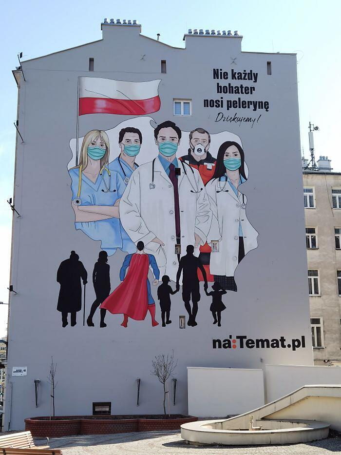 Street art mondo coronavirus