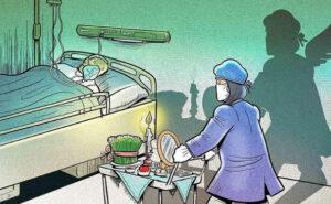 Artista illustra la dura realtà affrontata dai medici durante la pandemia di coronavirus