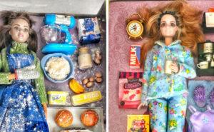 Durante la pandemia anche Barbie va in quarantena e si mostra più realistica che mai