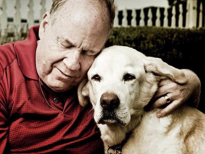 Cane che salvò 31 persone l'11 settembre Roselle