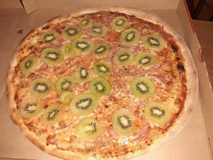 La moglie dell'inventore della pizza al kiwi ha chiesto il divorzio