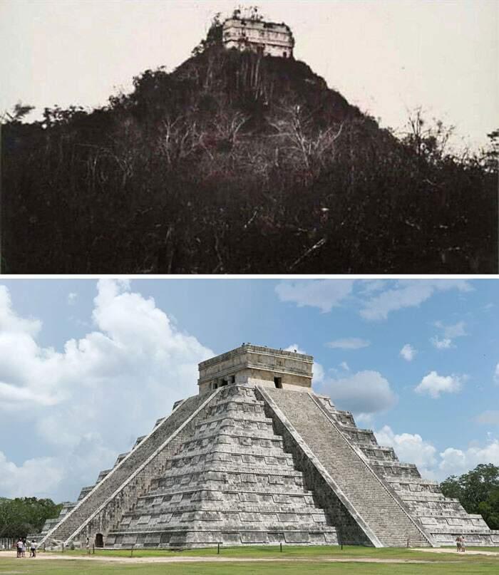 """32 straordinarie foto """"ieri e oggi"""" mostrano come il tempo trasforma il mondo"""