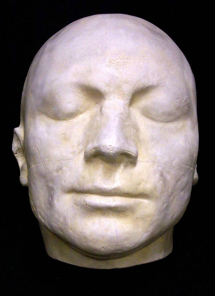 Ricostruzione volti del passato - maschera Robespierre