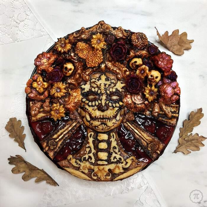 Pasticcera crea spaventose torte e crostate di Halloween ed ecco 28 tra le migliori