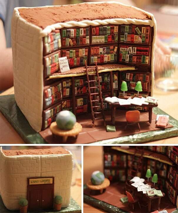 100 torte decorate in maniera spettacolare, troppo belle per essere mangiate