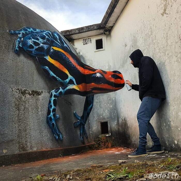 Street artist continua a creare illusioni ottiche che vi lasceranno a bocca aperta (32 nuove foto)